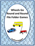 Transportation Unit Kindergarten Math & Literacy Centers File Folder Games