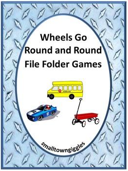 Transportation Unit Kindergarten Math & Literacy Centers F