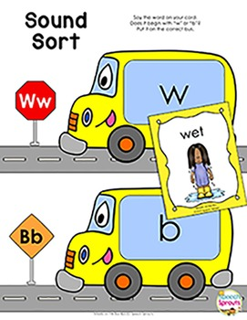 Wheels On The Bus Interactive Speech and Language Activities