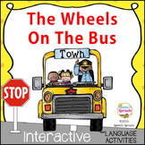 Wheels On The Bus Speech and Language Digital & Print Activities