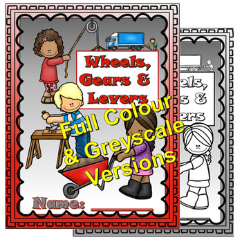 Wheels and Levers Lapbook (AB Gr4 Aligned)