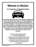 Wheels in Motion: A Fun Activity to Investigate Simple Machines and Motion