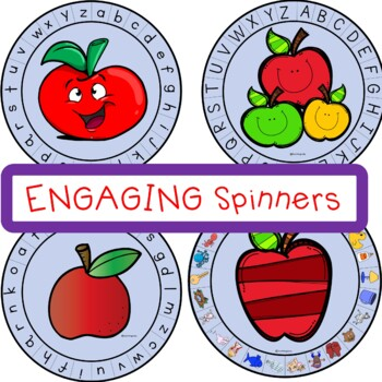 Beginning Sound Phonemic Awareness Game Apple Themed