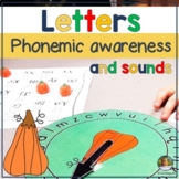 Letter Recognition and Initial Sounds Pumpkin Game