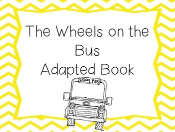 Wheels on the Bus Adapted Book