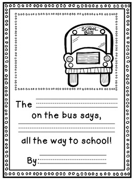 Wheels on the Bus {Literature Responses, Bus Safety, & More!}