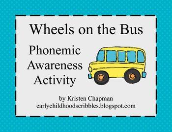 Wheels on the Bus - Phonemic Awareness Activity