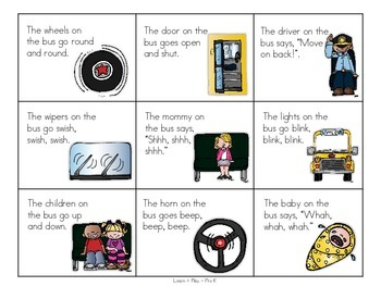 Wheels on the Bus Preschool Play Pack