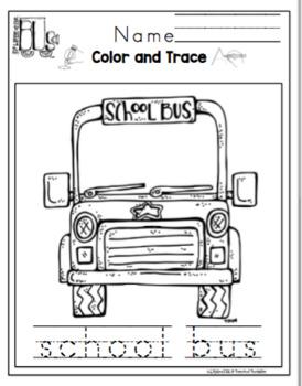 Wheels on the Bus Printable