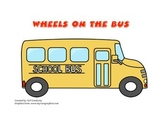 Wheels on the Bus- Song Board