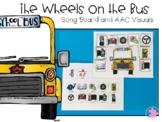 Wheels on the Bus Song Board ** Special Education** ** Preschool **