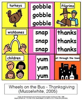 Wheels on the Bus Songboard Sampler