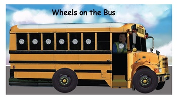 Wheels on the Bus - Vest Display - SymbolStix