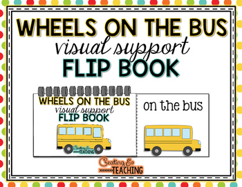 Wheels on the Bus Visual Support Flip Book