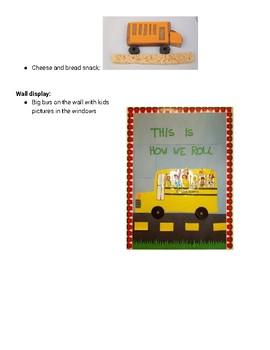 Wheels on the School Bus Unit
