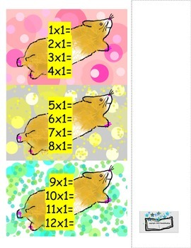 Wheely Fun Hamster Run- Multiplication Game
