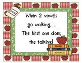 When 2 Vowels Go Walking