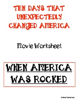When America was Rocked Movie Guide
