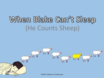 When Blake Can't Sleep (He Counts Sheep)