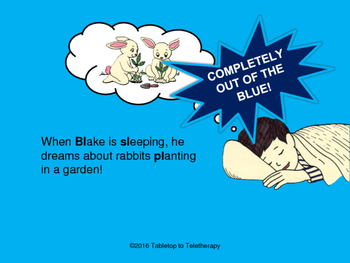 When Blake is Sleeping (He dreams about /l/-blends)!