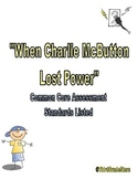 When Charlie McButton Lost Power Assessment Reading Street