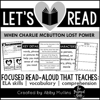 When Charlie Mcbutton Lost Power Comprehension Worksheets