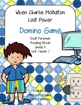 When Charlie McButton Lost Power DOMINO Game