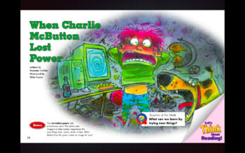 When Charlie McButton Lost Power Reading Street Grade 3 Unit 1 Week 1 KeyNote
