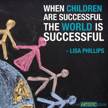 When Children Are Successful (Printable Poster)