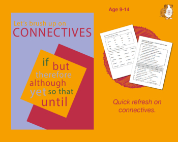 When Do I Use Connectives? (Improve Your English Work Packs) 9-14 years