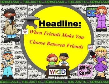 When Friends Make You Choose: SMARTboard lesson