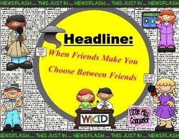 When Friends Make You Choose: SMARTboard lesson