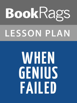 When Genius Failed Lesson Plans