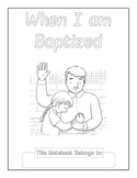 When I Am Baptized Copywork Notebook