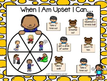When I Am Upset Social Story Emergent Reader Book AND Interactive Activities