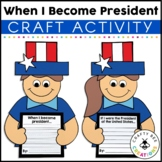 Presidents Day Craft {When I Become President}