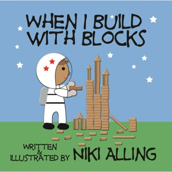 When I Build with Blocks - Paperback Book