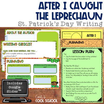 After I Caught a Lepruchaun Mini Book- St. Patrick's Day Writing