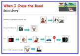 When I Cross the Road - 1 page poster handout (visual support)