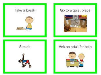 When I Feel Angry (Coping Skills/Tools) - use with Zones of Regulation lessons