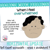 When I Feel Overwhelmed- a Dealing With Feelings storybook