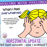 Identifying, managing feelings and emotions: Overwhelmed girls
