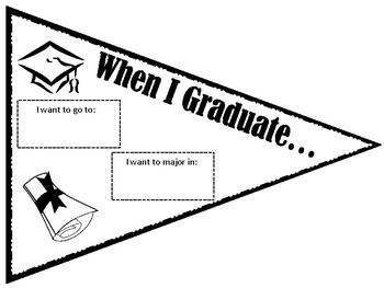 when i graduate banner by la nette mark teachers pay teachers