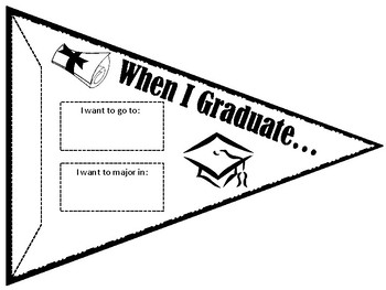 When I Graduate Banner