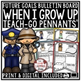 When I Grow Up Activity & Community Helpers Worksheets Teach- Go Pennants™