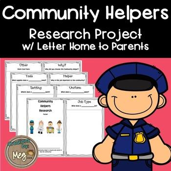 Community Helper Research Packet