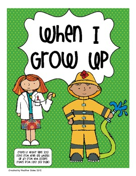 When I Grow Up: A Printable Set for Community Helpers