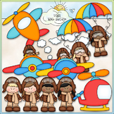 When I Grow Up: Aviator Clip Art - Airplane Pilot Clip Art