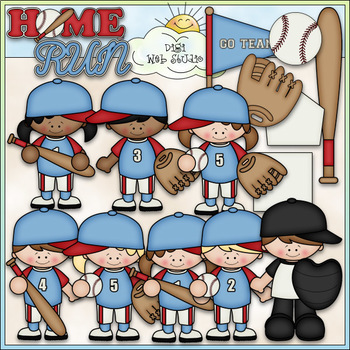 When I Grow Up: Baseball Clip Art - Baseball Team Clip Art - CU Clip Art & B&W
