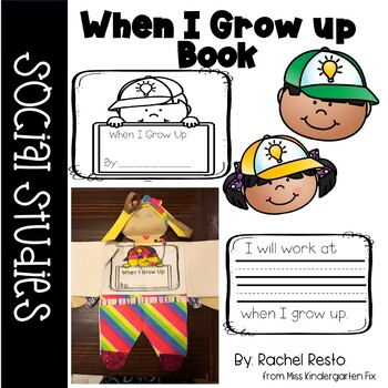When I Grow Up Book and Creativity